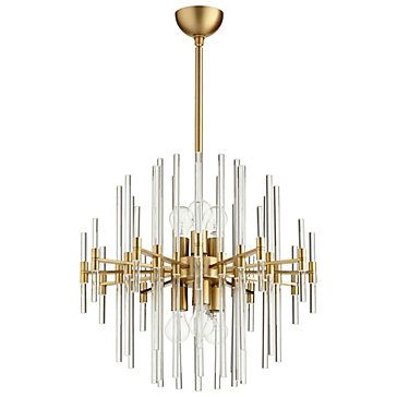 Galaxy Chandelier Aged Br Lighting Chandeliers