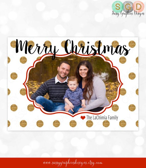 photo christmas card family holiday card happy holidays card