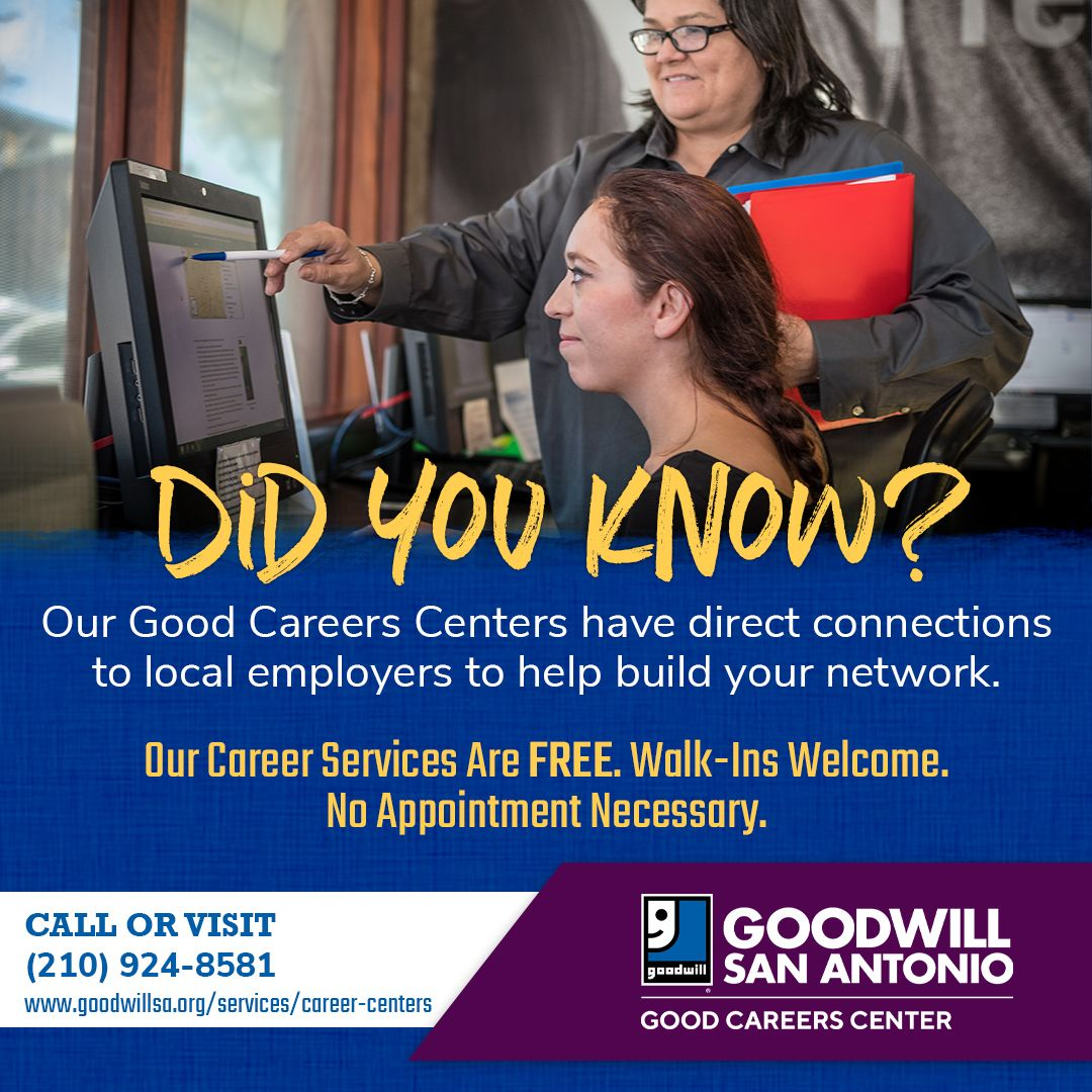 Did You Know That Our Good Career Centers Have Direct Connections