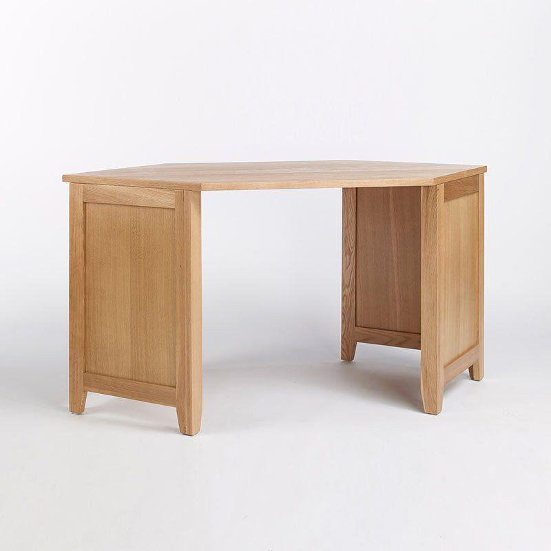 Sherwood Solid Oak Corner Unit Sideboard Ametis E Shape 1 Office Deskoffice