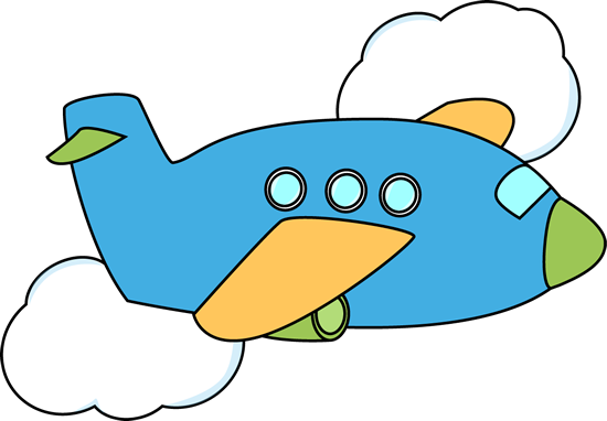 cute airplane airplane flying through clouds clip art image blue rh pinterest com Advertising Clip Art Planes Small Plane