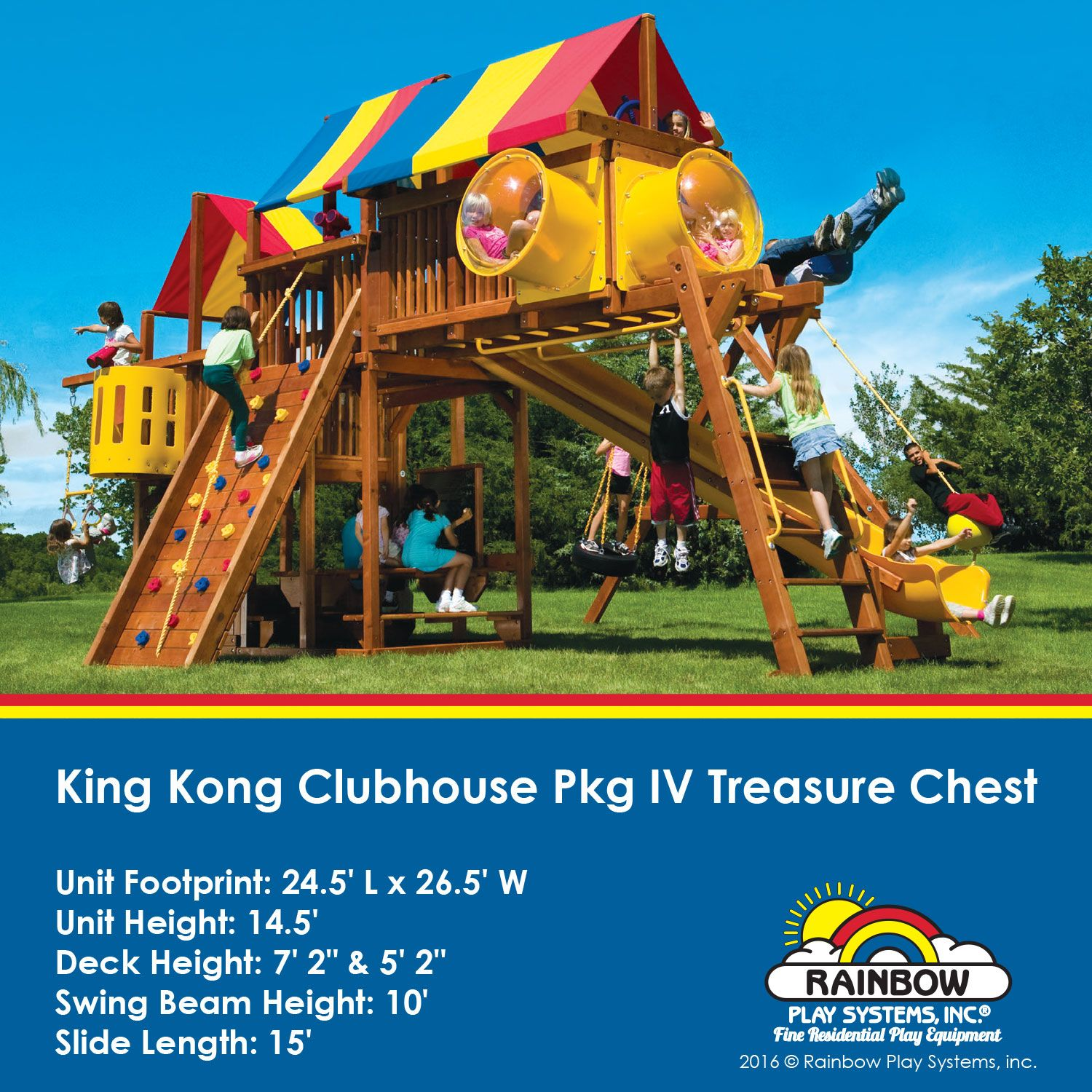 February 2016 Featured Swing Sets