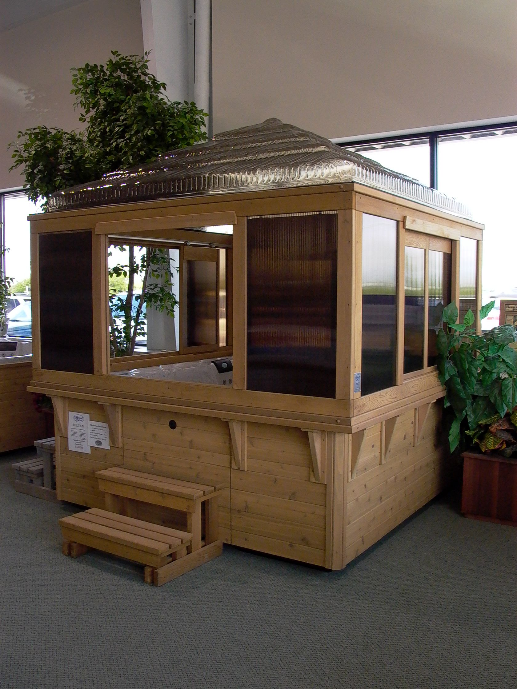 Hot Tub Gazebos and Spa Enclosures | Hot tub gazebo and Products