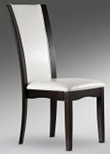 Daisy White Leather Parson Chair Dining Chairs Chair Home Decor