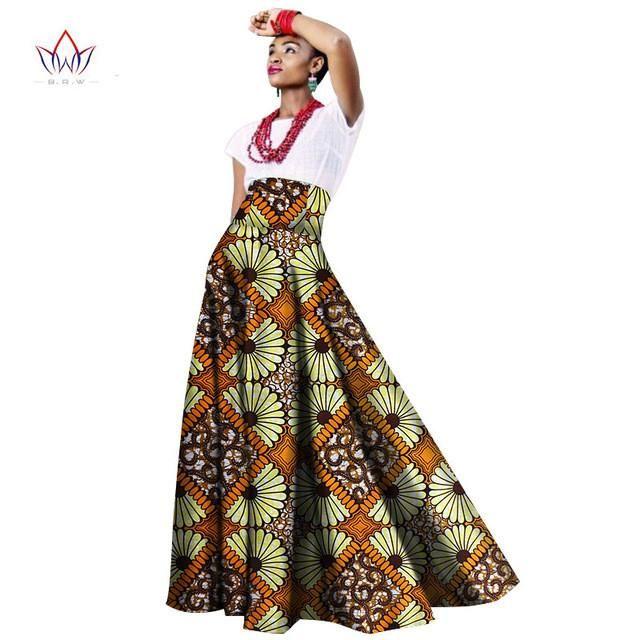 37709402d31 2017 sping african women clothing Long Maxi Dashiki for women Bazin riche  robe longue femme Plus Size print cotton skirt wy1063