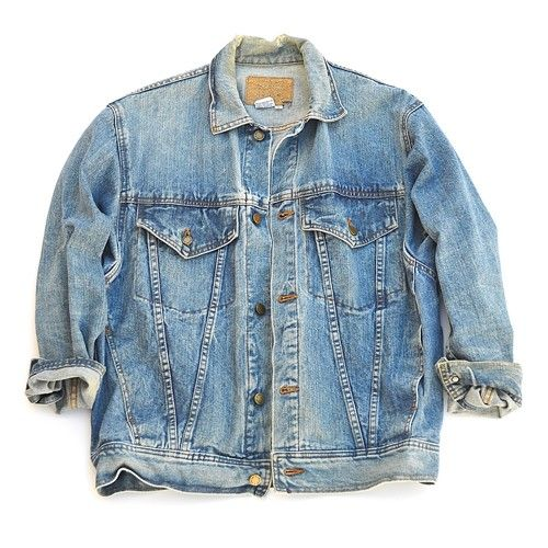 muses & rebels men's vintage denim jacket - clothing ...