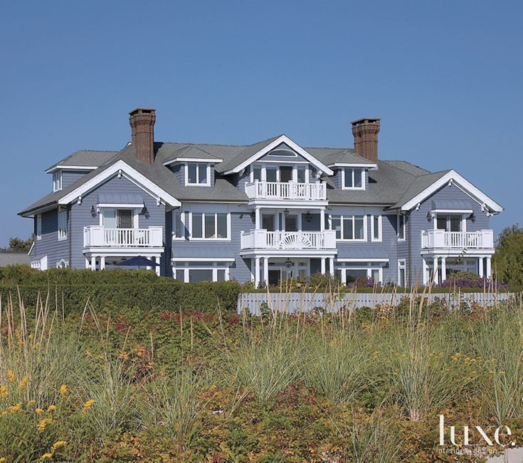 Lbi Nj: An Oceanfront Victorian Beach House In New Jersey