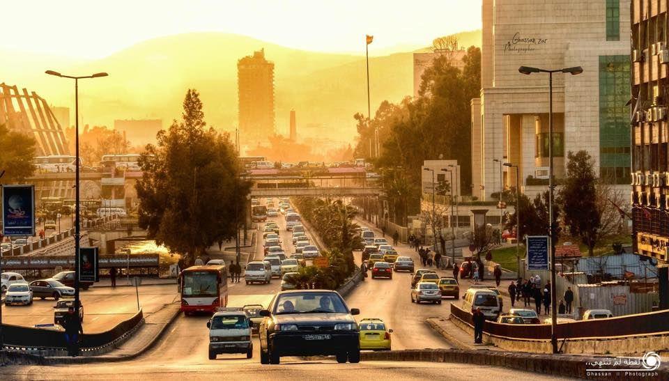 Syria Damascus Four Season دمشق سوريا Syria Damascus Canal