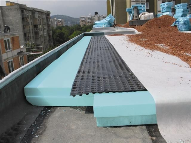 Inverted Roof Fibran Energy Shield Architectural