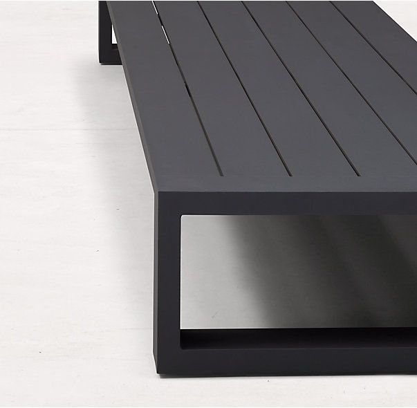 Pleasant Aegean Aluminum Coffee Table Nca Garden Furniture Machost Co Dining Chair Design Ideas Machostcouk