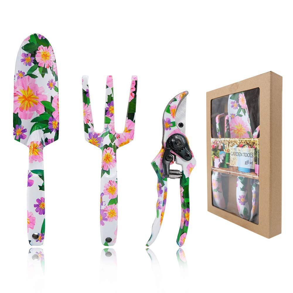 Hortem 9PCS Floral Garden Tools for Women * Be sure to check out