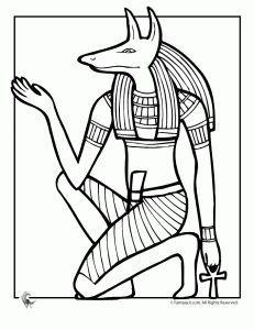 ancient egypt coloring pages   Egyptisk kunst, Egypten ...