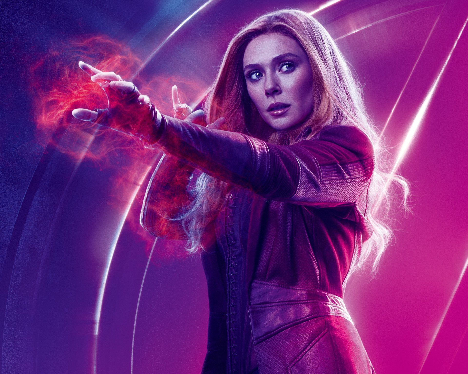 Scarlet Witch Avengers Infinity War 8k Ultra Hd Wallpaper And