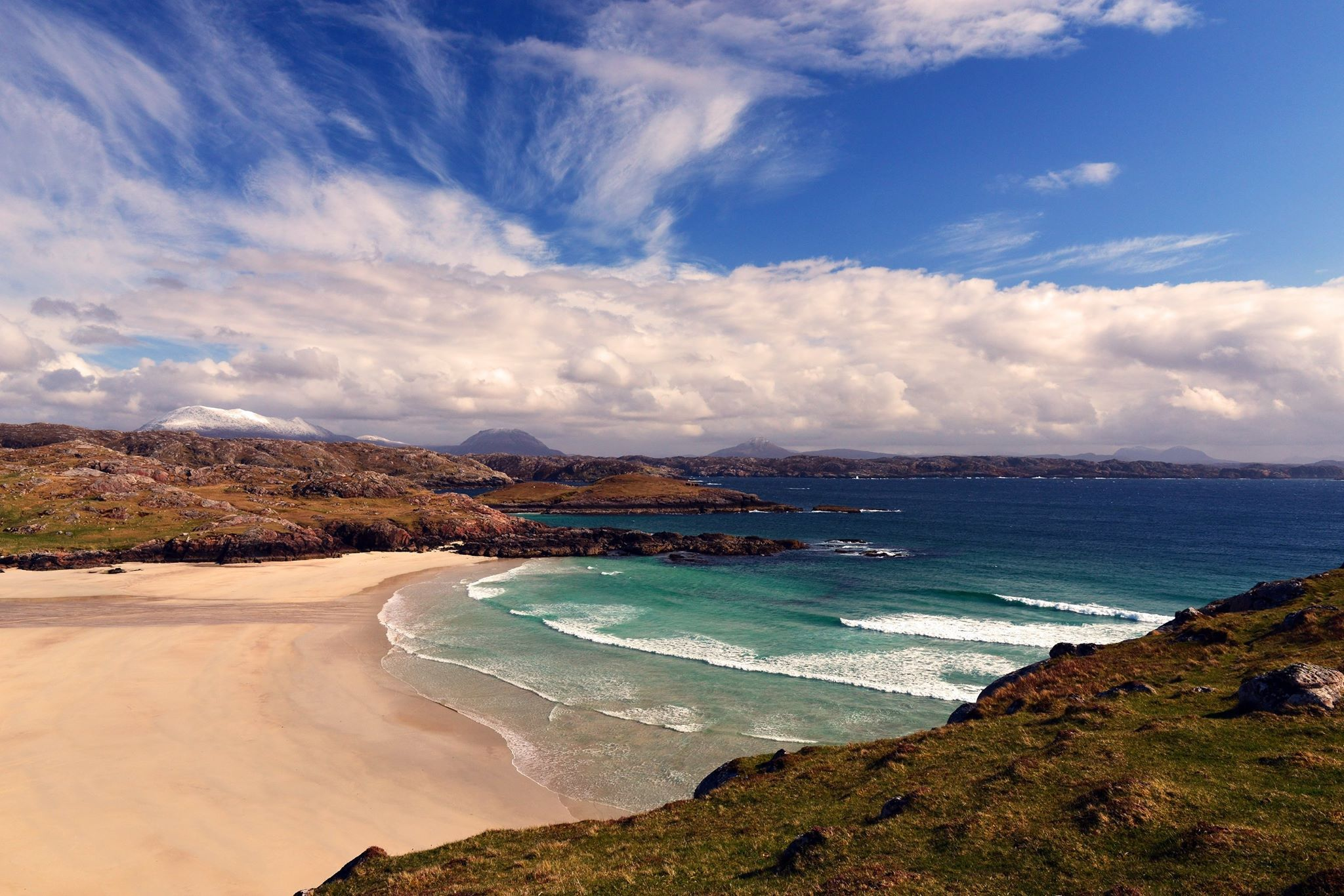 Polin Beach, beside Kinlockbervie, Sutherland
