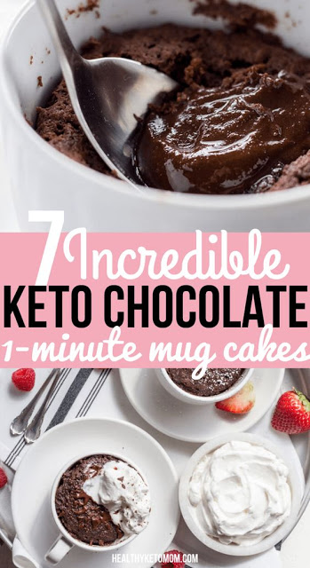Keto Brownie Mug Cake | Recipe (With images) | Low carb ...