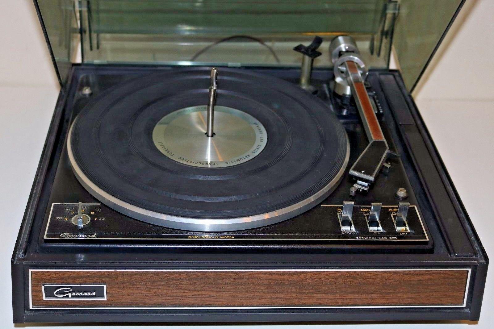 Vintage Garrard Synchro Lab 95B Turntable w Manual | eBay