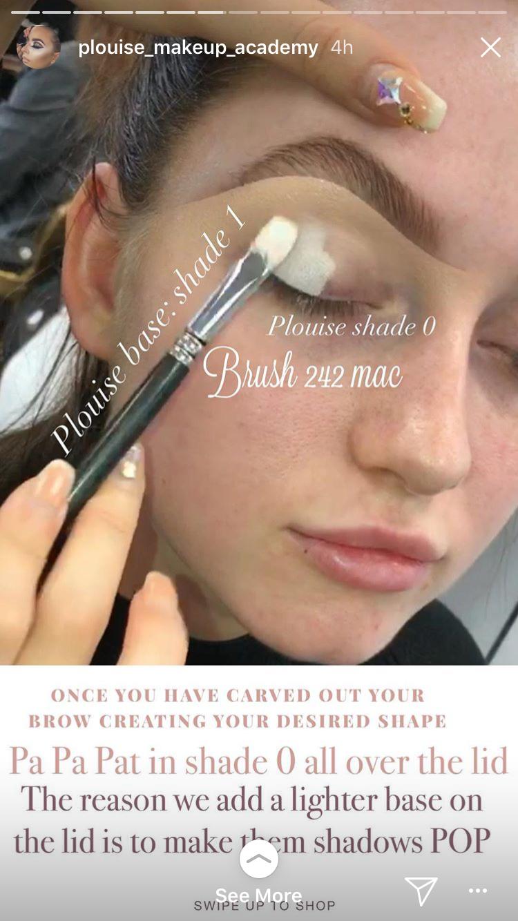 Pin By Alicia Sherman On Eye Makeup Eye Makeup Plouise Makeup Academy Makeup