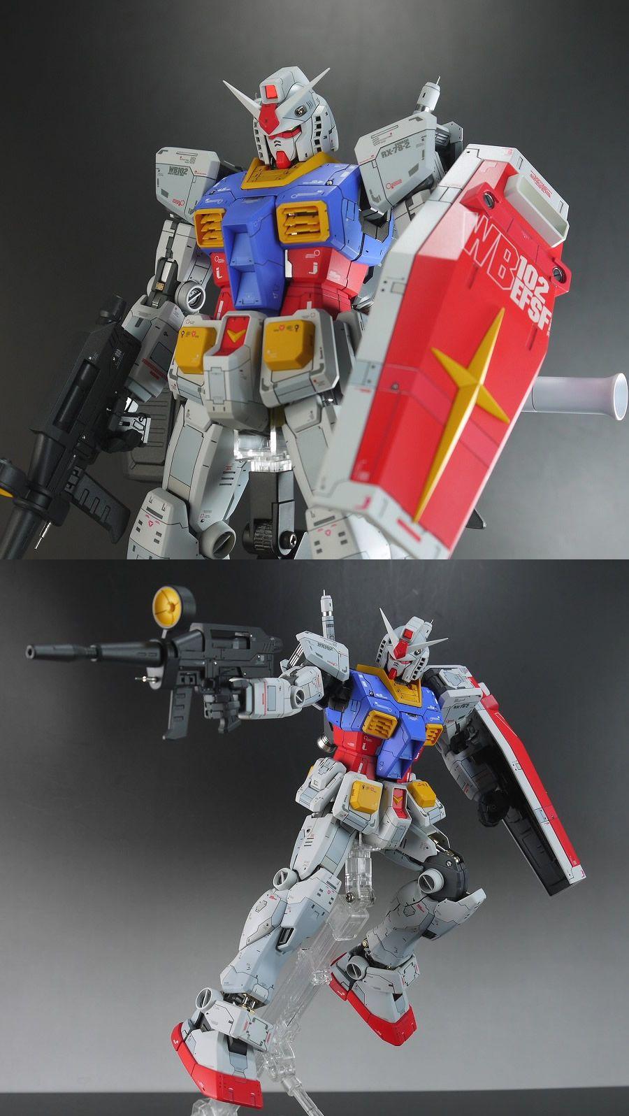 MG 1/100 RX782 Gundam One Year War Customized Build
