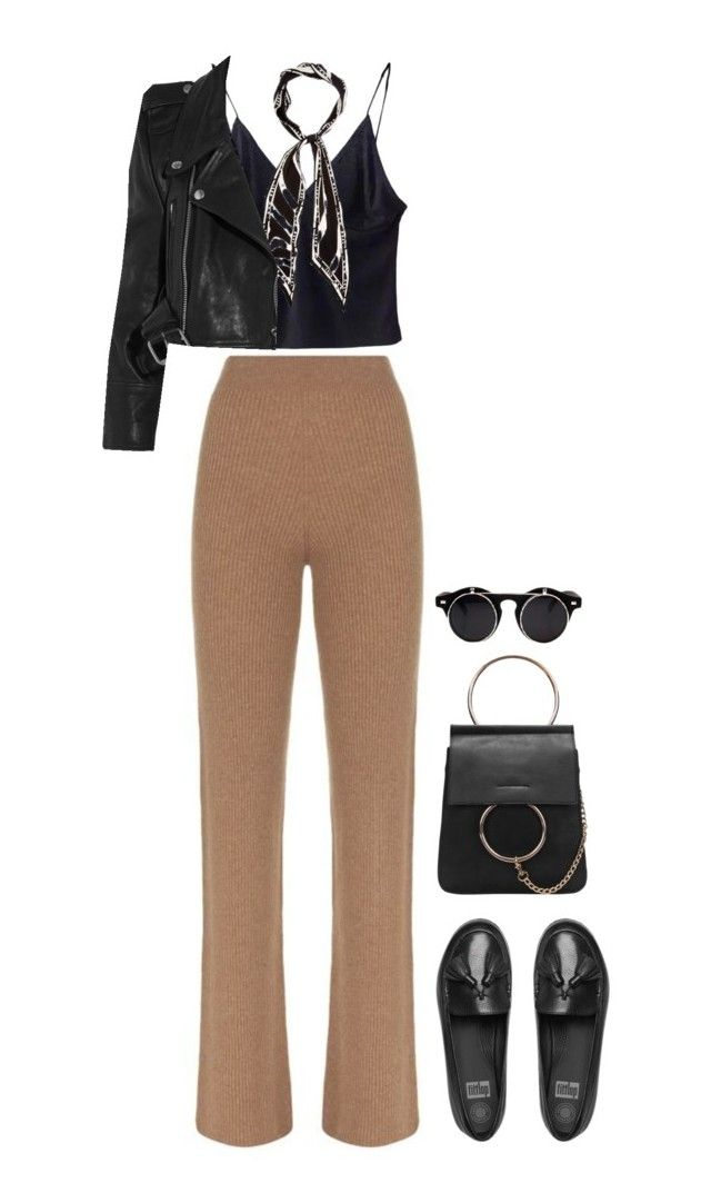 """""""Geen titel #1332"""" by voidpietro ❤ liked on Polyvore featuring Harrods, FitFlop, Rockins and Vetements"""
