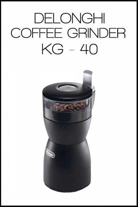 DELONGHI COFFEE GRINDER KG - 40   OttenCoffee - Mesin Kopi , Coffee Grinder , Barista Tools , Kopi Indonesia