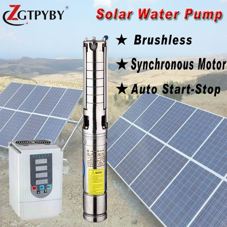 1hp Dc Solar Submersible Pump Price Exported To 58 Countries Solar Powered Submersible Deep Well Water Pumps Solar Power House Solar Solar Water Pump