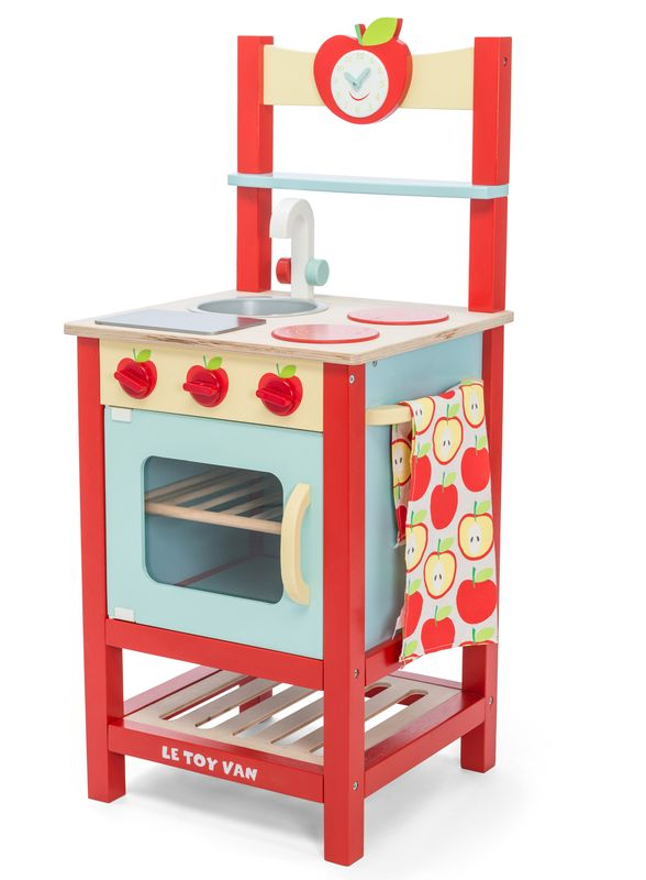 Honeybake Applewood Kitchen Letv311 By Le Toy Van Distributed By Kaleidoscope Miniaturas Brinquedos Educativos