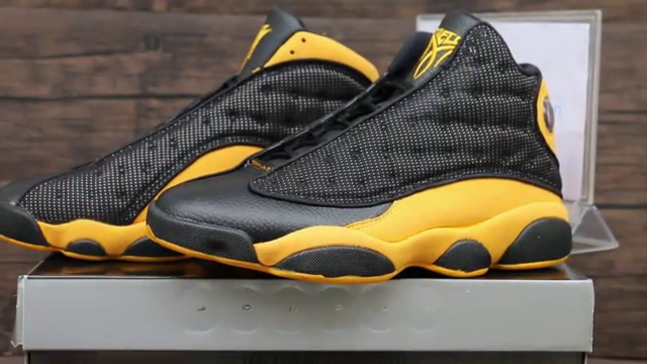 0a3eeda722d6 Melo PE Air Jordan 13 Black Yellow Nuggets 2017. Can t wait ...