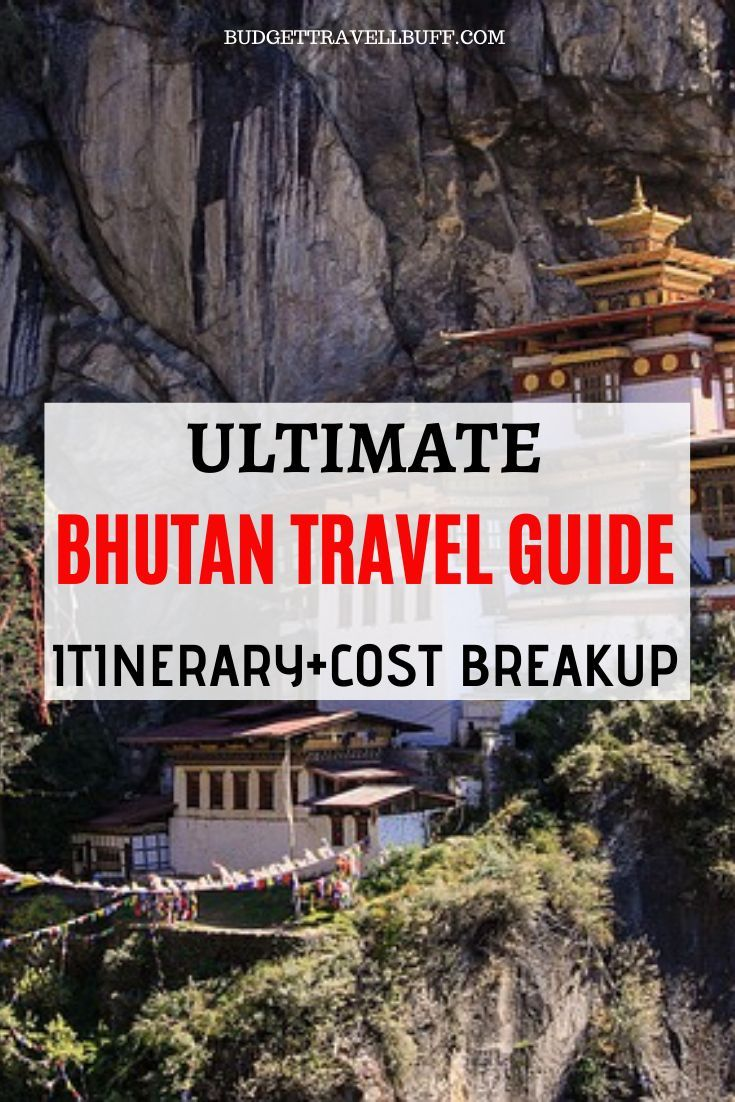 Bhutan Budget Trip Itinerary Full Guide for the First-timers