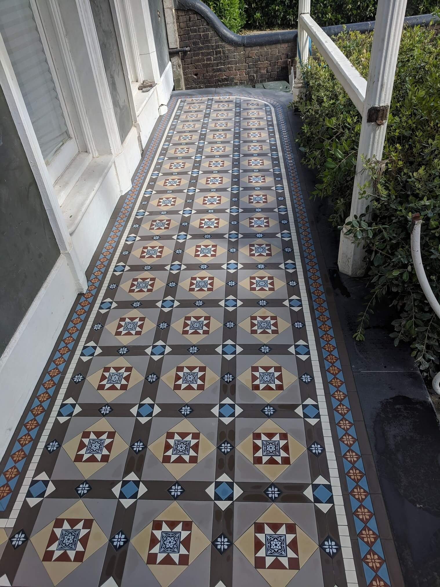 38+ Fantastic Terrific Tiles Images | Victorian mosaic ...