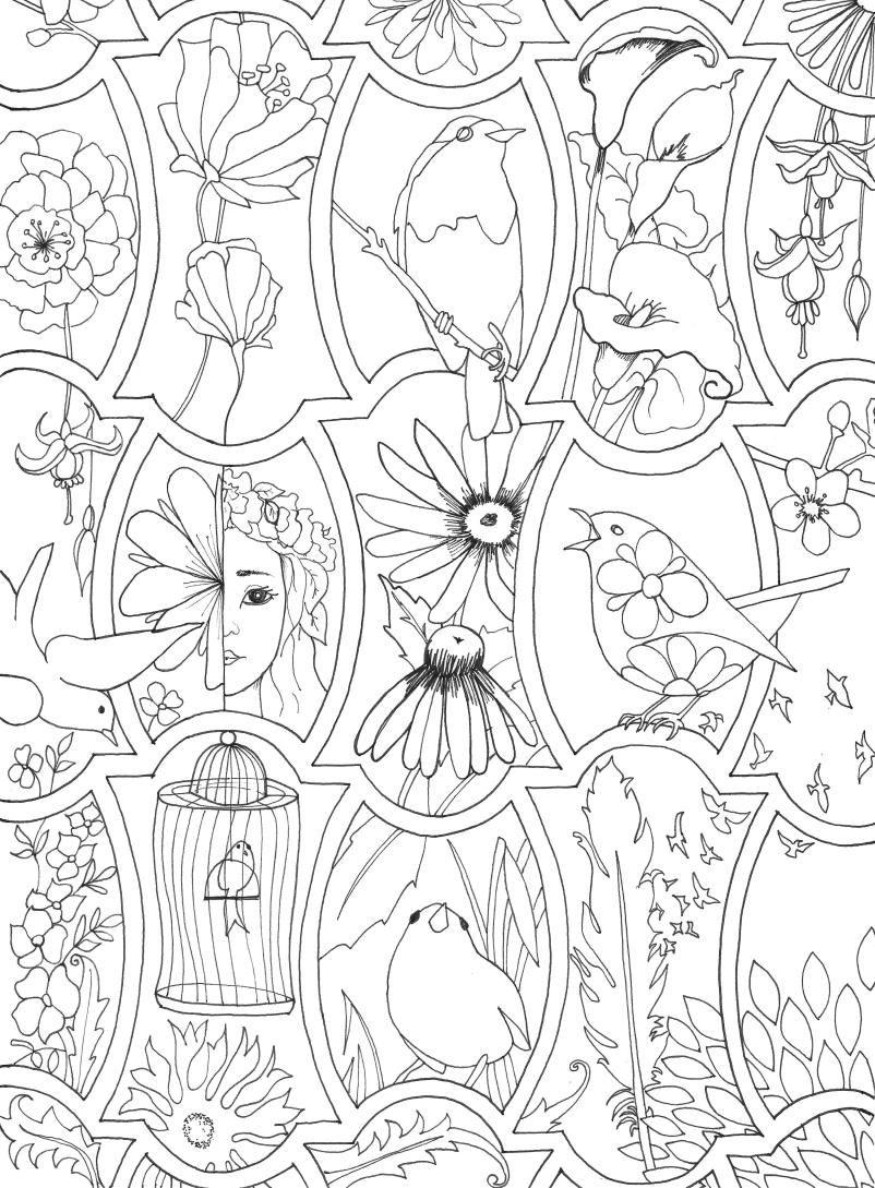 Pin de Adelle Brink en Coloring and Stencils   Pinterest