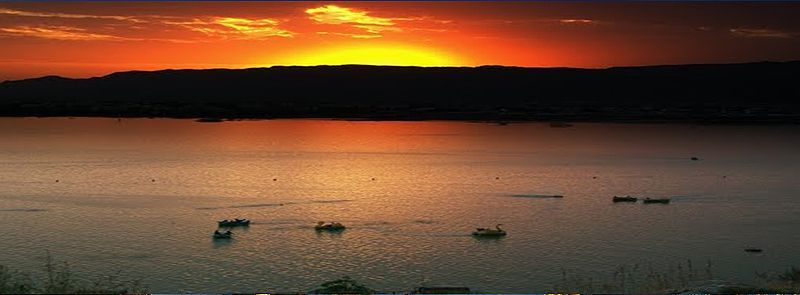 Sunset At Foy Sagar Lake Ajmer India India Holidays 2 Days Trip Day Trips