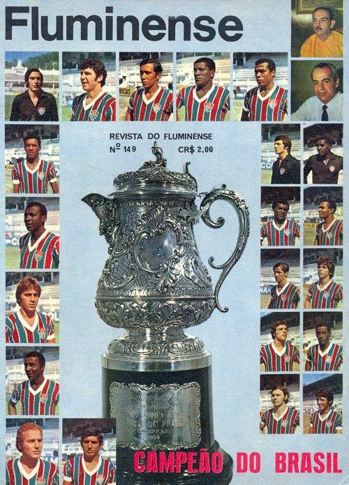 Fluminense campeão brasileiro 1970 - Revista do Fluminense