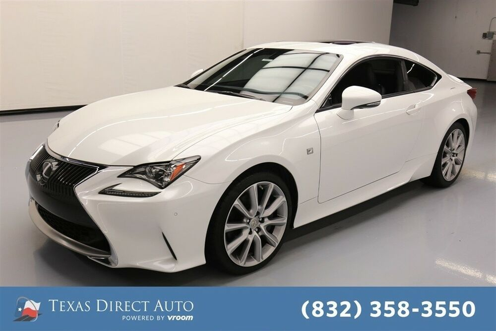 For Sale 2015 Lexus RC Texas Direct Auto 2015 Used 3.5L