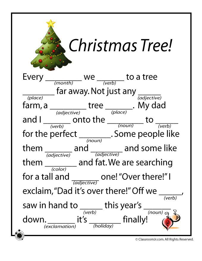 why not make a fun holiday workbook for the kids to work on over the break add a few christmas mad libs a few math coloring worksheets and they will still