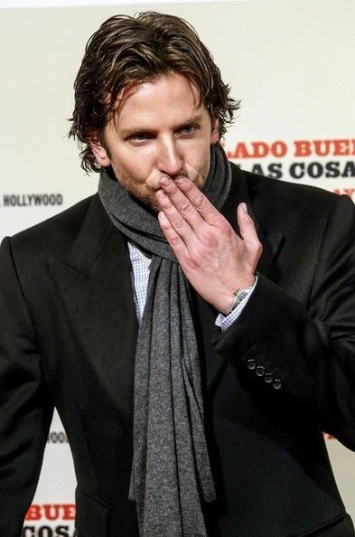 Bradley Cooper Blowing Kisses Bradley Cooper Films Bradley