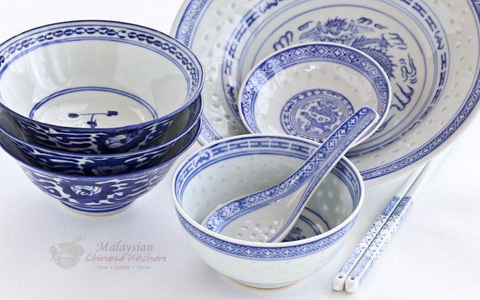 Malaysian Chinese Ceramic Ware Malaysian Chinese Kitchen In 2020 Chinese Ceramics Ceramic Ware Chinese Bowls