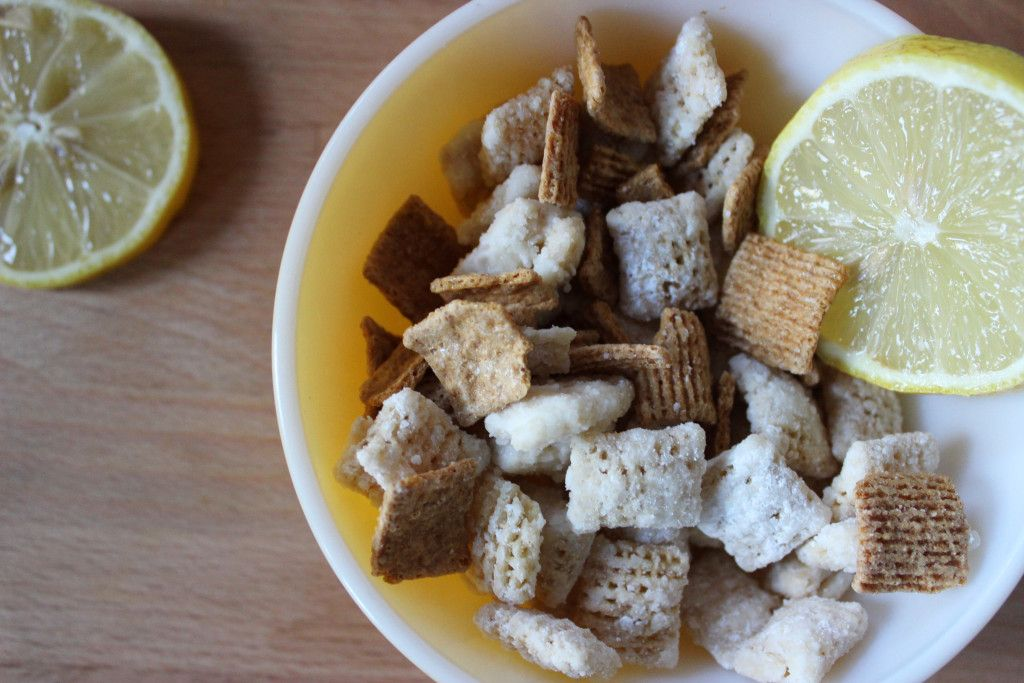 Lemon Pie Chex Mix Using Young Living Lemon Essential Oil Puppy Chow Chex Mix Recipe Chex Mix Recipes Lemon Puppy Chow