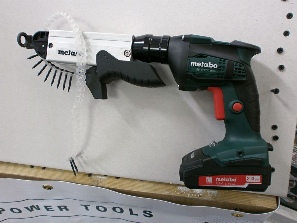 Brand NEW Metabo SE18LTX 4000 Cordless Screw Gun - with 18V 2Ah ...