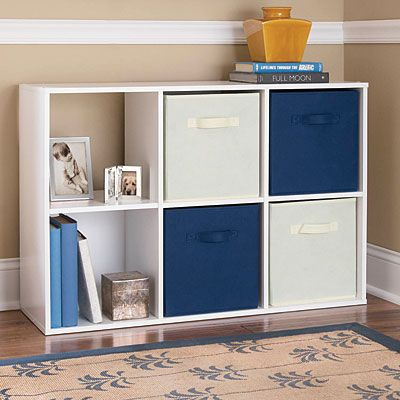 System Build™ 6 Cube Cubby White Stipple $29.99 Perfect Solution For A  Variety Of Storage Needs Design Allows For Vertical Or Horiztonal Use Use  Alone Or ...