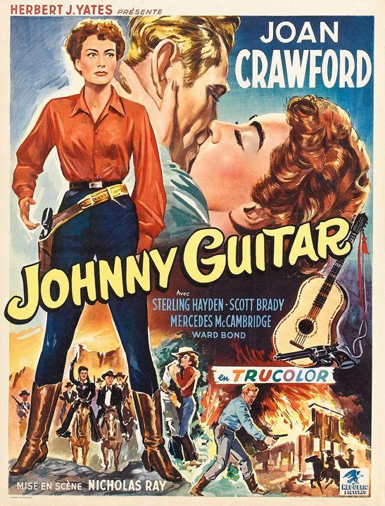 Movie poster masterprint (24 x 36) at walmart.com. johnny guitar | Joan crawford, Nicholas ray, Guitar posters
