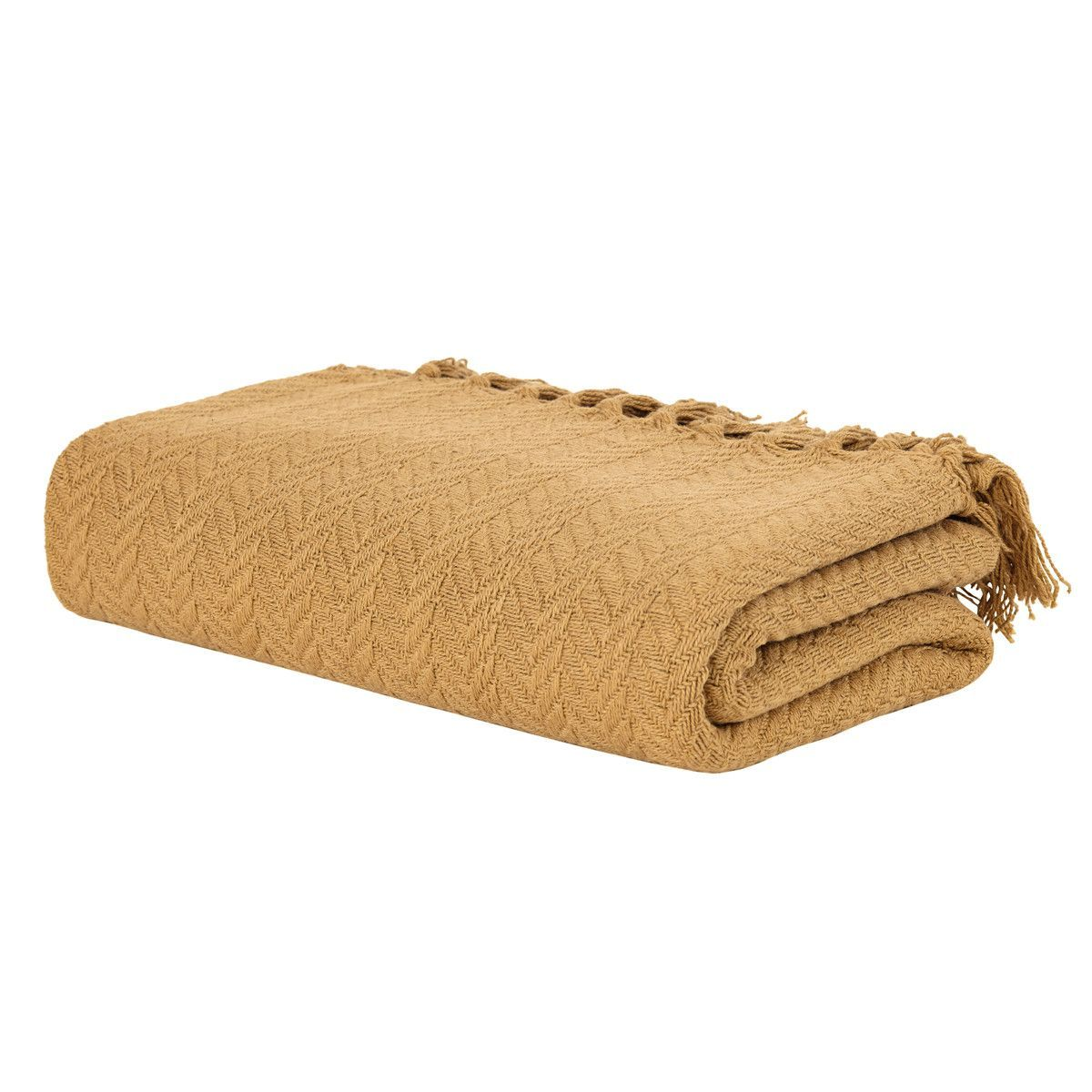 Nantucket Woven Cotton Throw