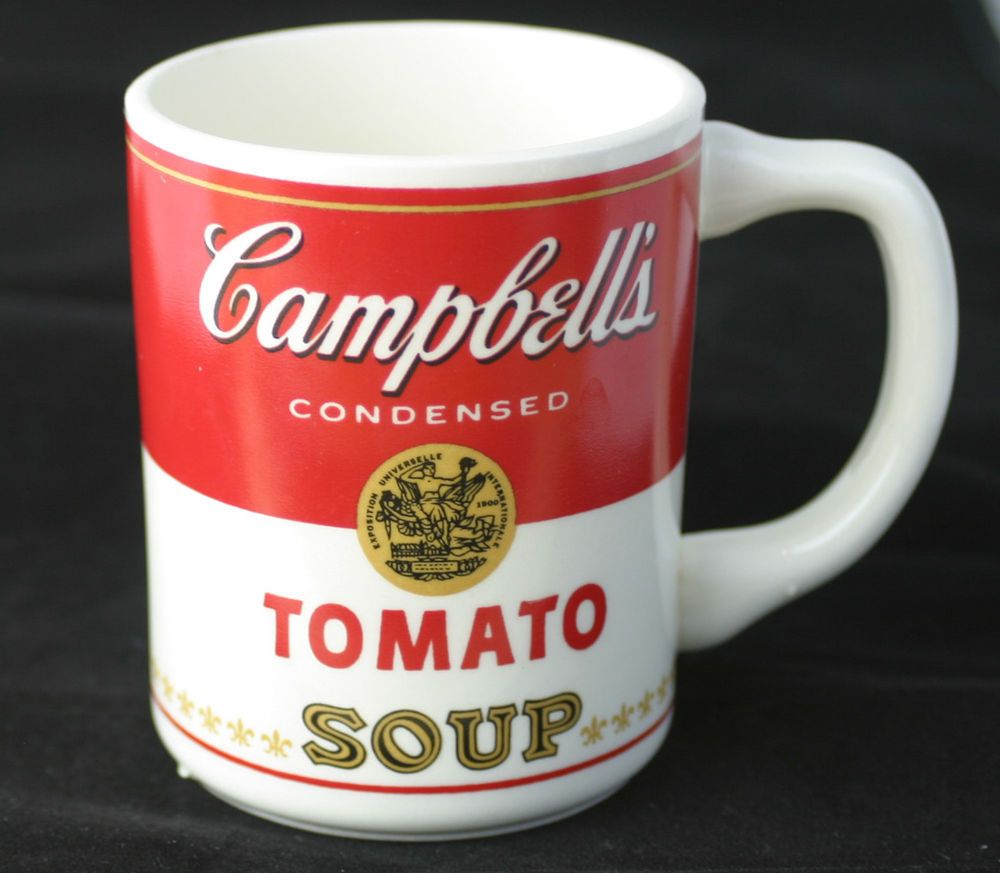 Set Of FOUR Vintage Campbell\'s Tomato Soup Coffee Mug / Cup Made in ...