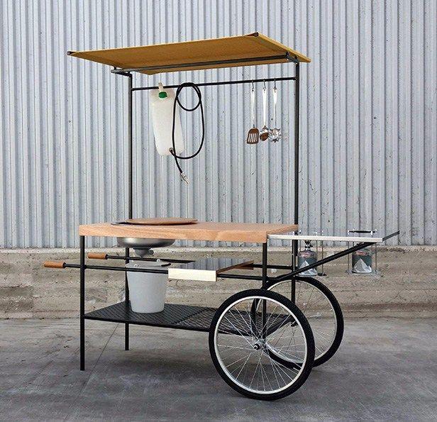 Q Bar And Kitchen: Mobile Küche, Marktstand