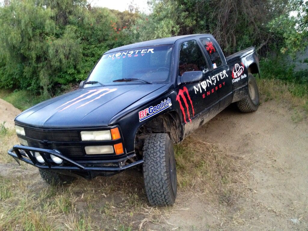All Chevy 98 chevy bumper : 95-98 Chevy prerunner fiberglass fenders | Baja | Pinterest | Road ...
