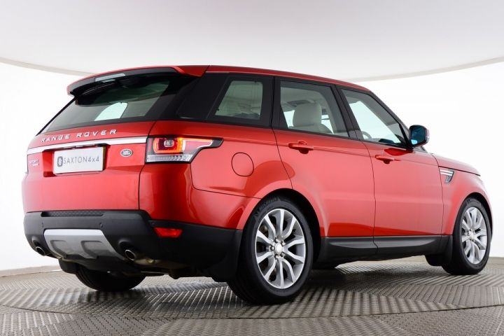 Used Land Rover Range Rover Sport Sdv6 Hse Red For Sale Essex Dk63xyc Saxton 4x4 Range Rover Sport Range Rover Used Range Rover