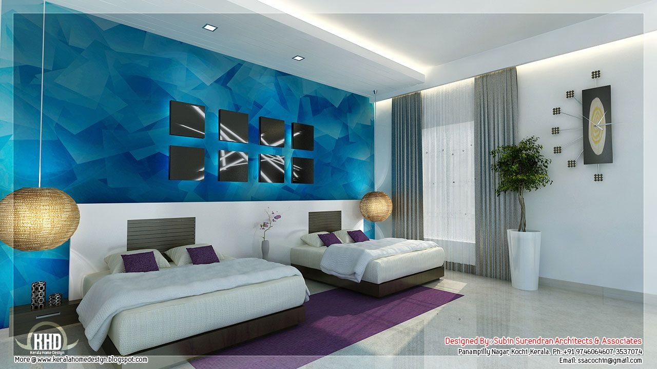 freshandnaturalbedroominteriordesign \\u2013 interior designbeautiful bedroom interior designs kerala house design