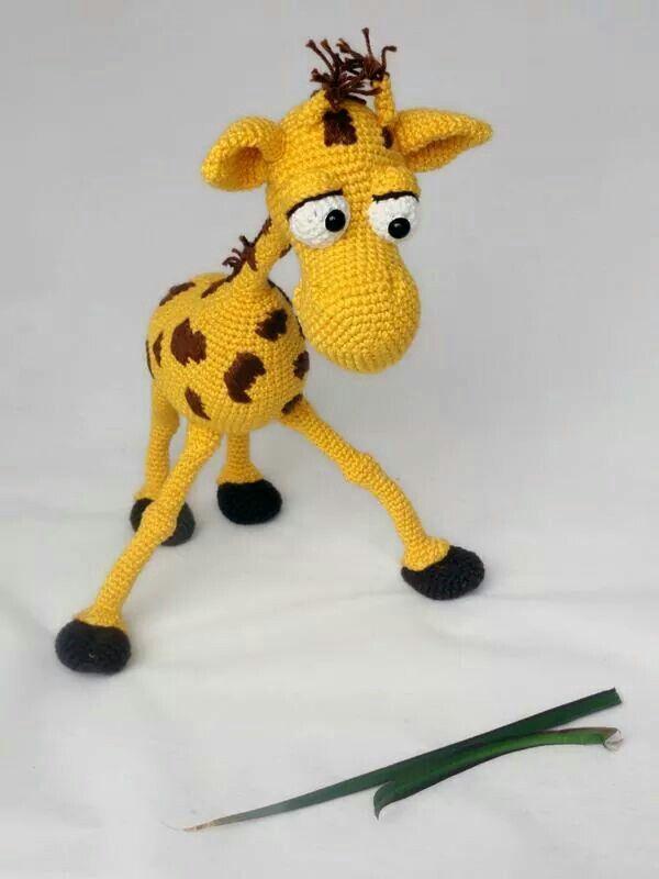 Crochet - giraf   Amigurumi   Pinterest   Jirafa, Ganchillo y Patrones