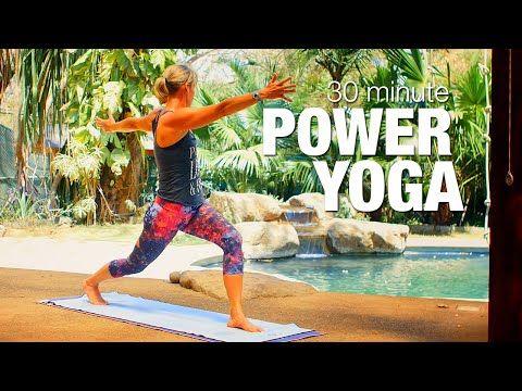 five parks yoga  30 minute power yoga  youtube  yoga