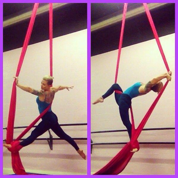 pole dance o acrobacia en tela