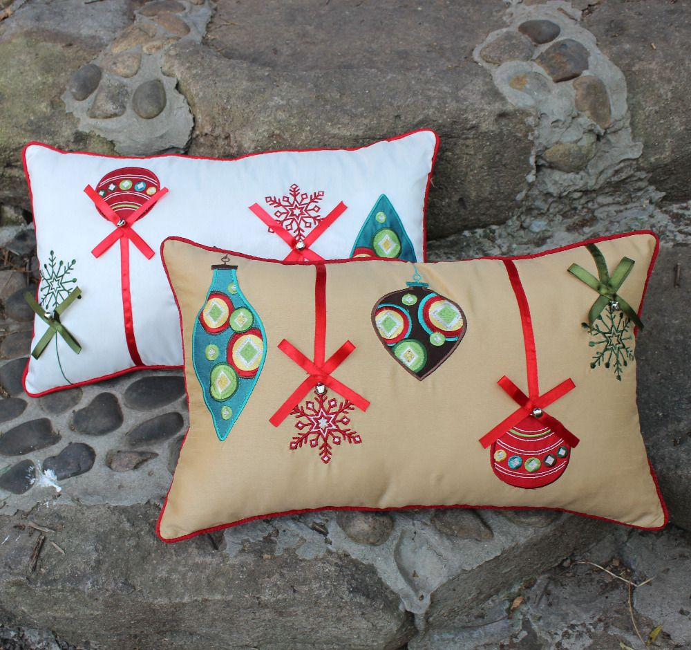 Christmas Throw Pillow Covers | Throw Pillow Covers | Pinterest ...